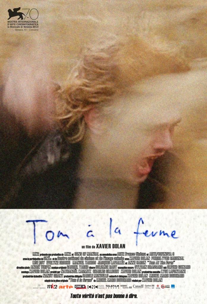 Tom a la ferme poster